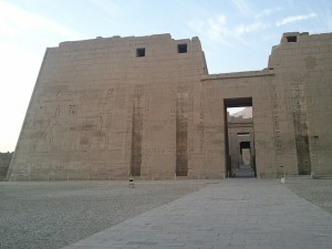 Habu Temple, Luxor, Pharaonic